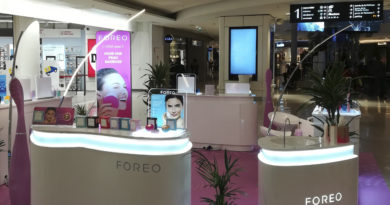 Pop-up branché Foreo