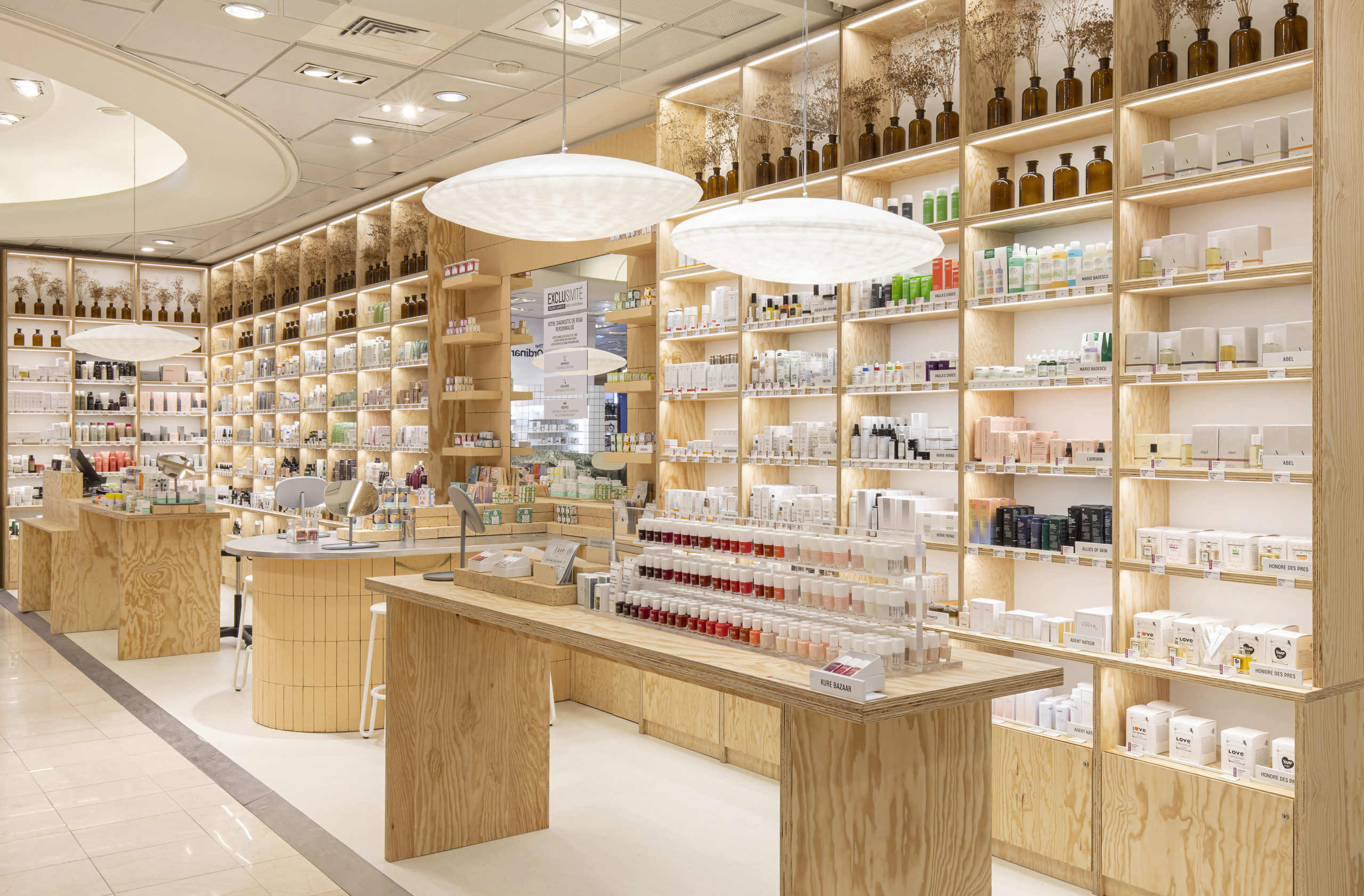 Un beauty lab naturel pour les Galeries Lafayette